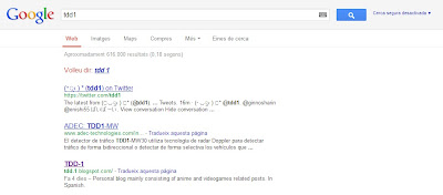 Búsqueda de Google: tdd1