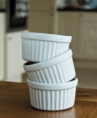 Ramekin dishes for cheese