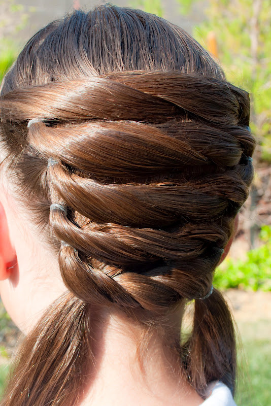 beach curl hairstyles : There are several ways you could end this hairstyle. Here we have two ...