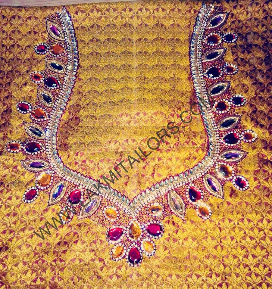 Hand embroidery designs aari work ausbeta