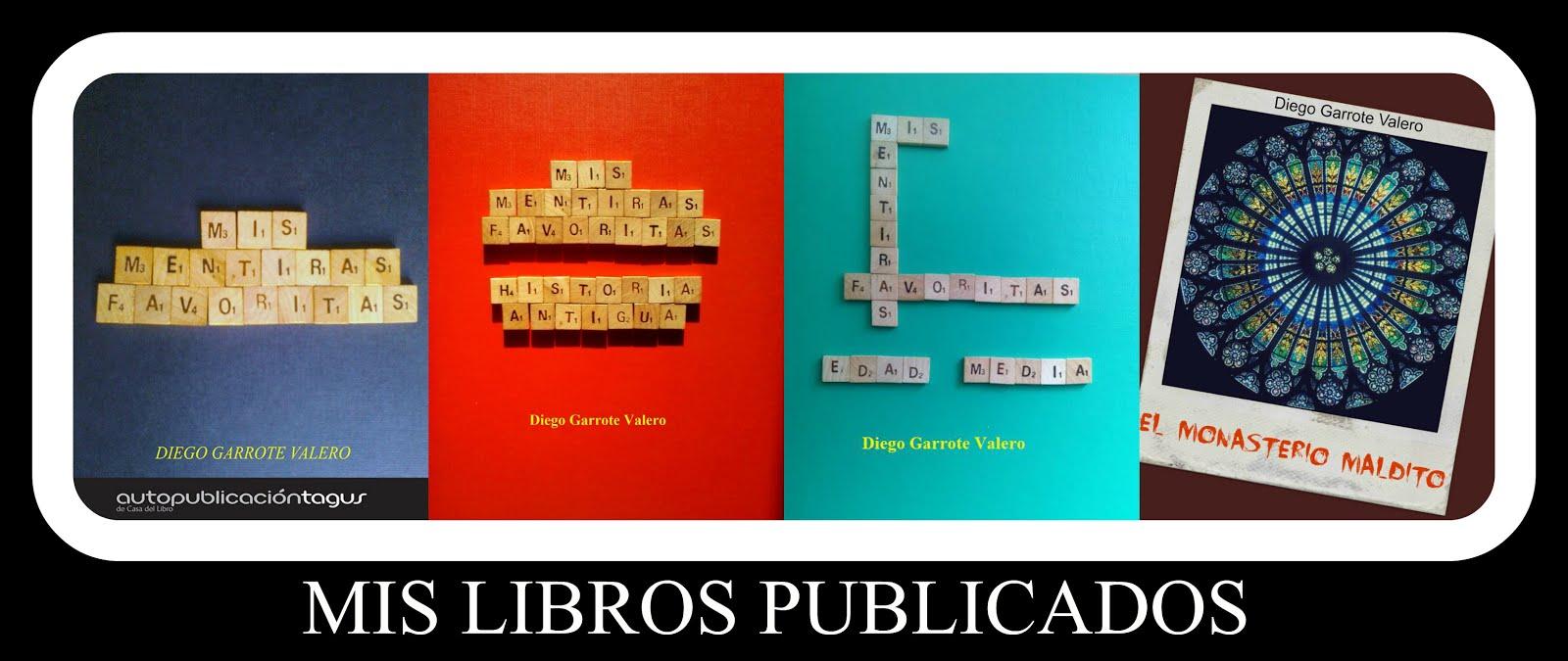 Mis libros publicados en la Casa del Libro