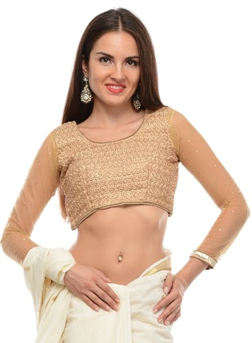 Party Blouses for Simple Sarees