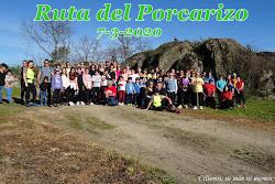 RUTA DEL PORCARIZO 7-3-2020