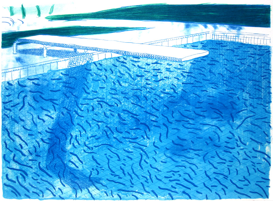 Literature fool david hockney swimming pools and the - David hockney swimming pool paintings ...