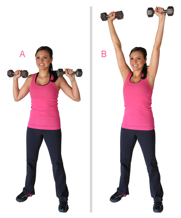 The Overhead Press The Actual Difference Between Seated: Runner In The Real World: Dumbbell And Stability Ball Arms