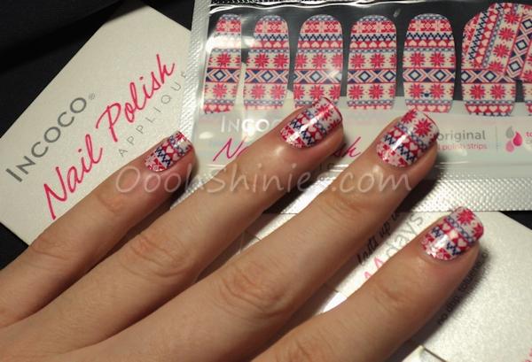 Incoco nail polish strips Cozy Up