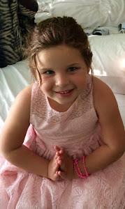 Nina, minha amada filhinha, 5 anos