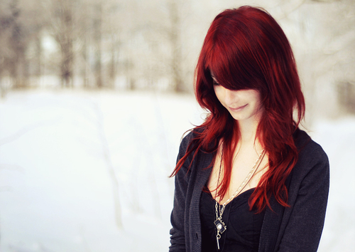 ... the internet that made me think about going back to dying my hair red