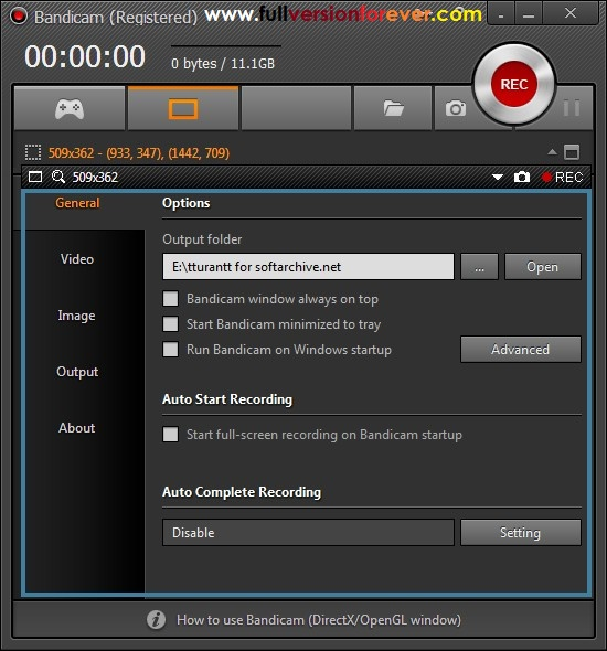 Bandicam Game Recording Software, Screen Recorder Free Download