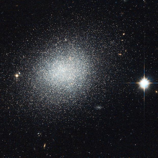 Hubble observes the Dwarf Galaxy UGC 5497