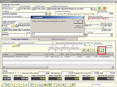 NeXT ERP NFe NFSe 162 Lei 12741 RPS PRODAM SP