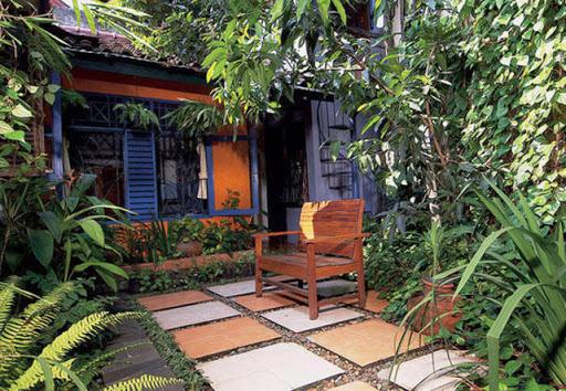 Shady backyard designs for Shady backyard landscaping ideas