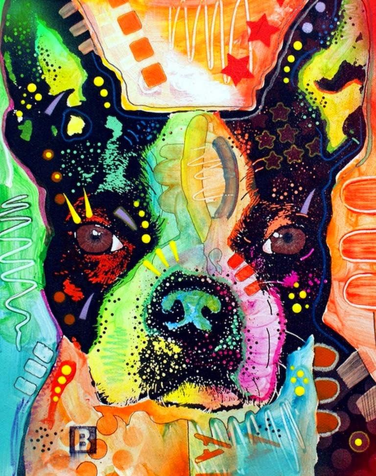 Una estrella canina arte pop mi preferido dean russo y - Cuadros pop art comic ...