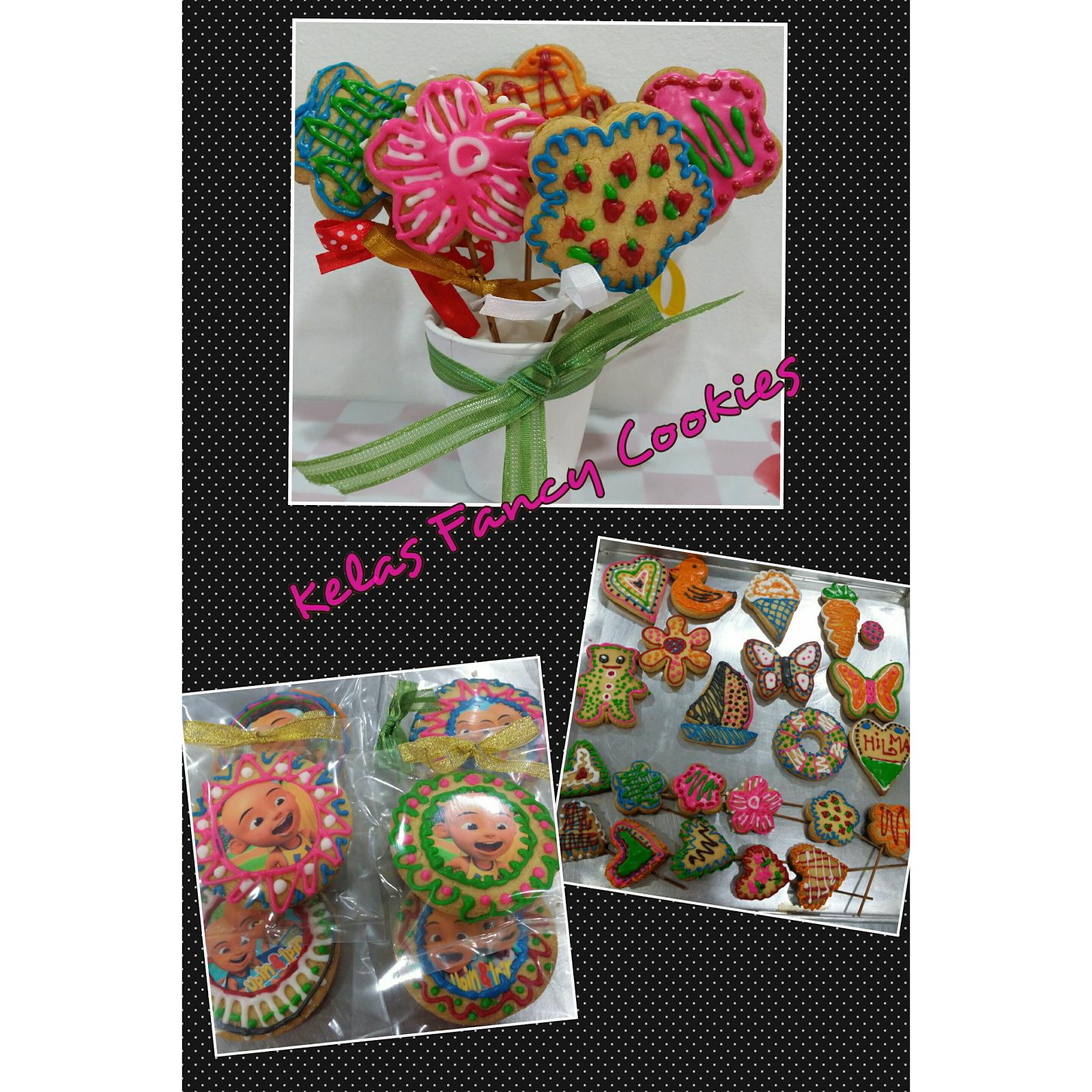 Kelas DIY Fancy Cookies RM200