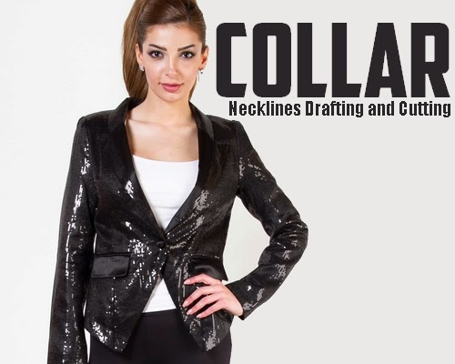 Collar neckline Drafting and Cutting Tutorial