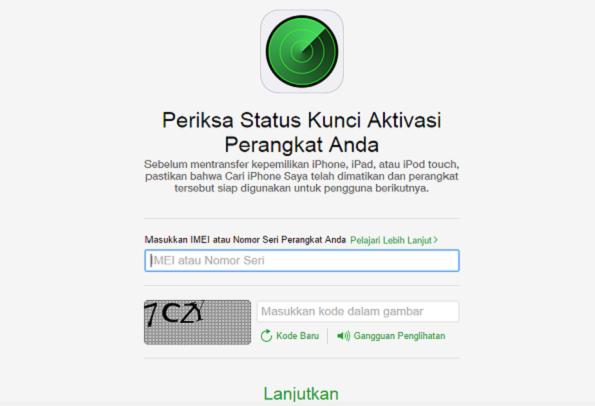 Cara Memanfaatkan Fitur Activation Lock Untuk Mengetahui Lock iCloud Pada iPhone