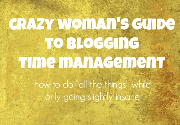 Blogging time management