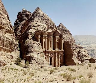 Petra Yordania, Kota Kuno yang Hilang Kembali Ditemukan