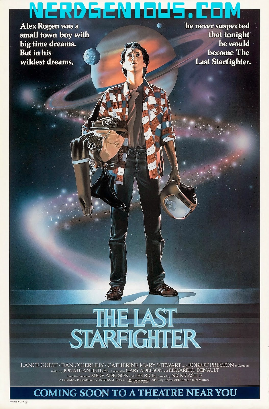 Lance Guest arcade gamer sci-fi fantasy The Last Starfighter