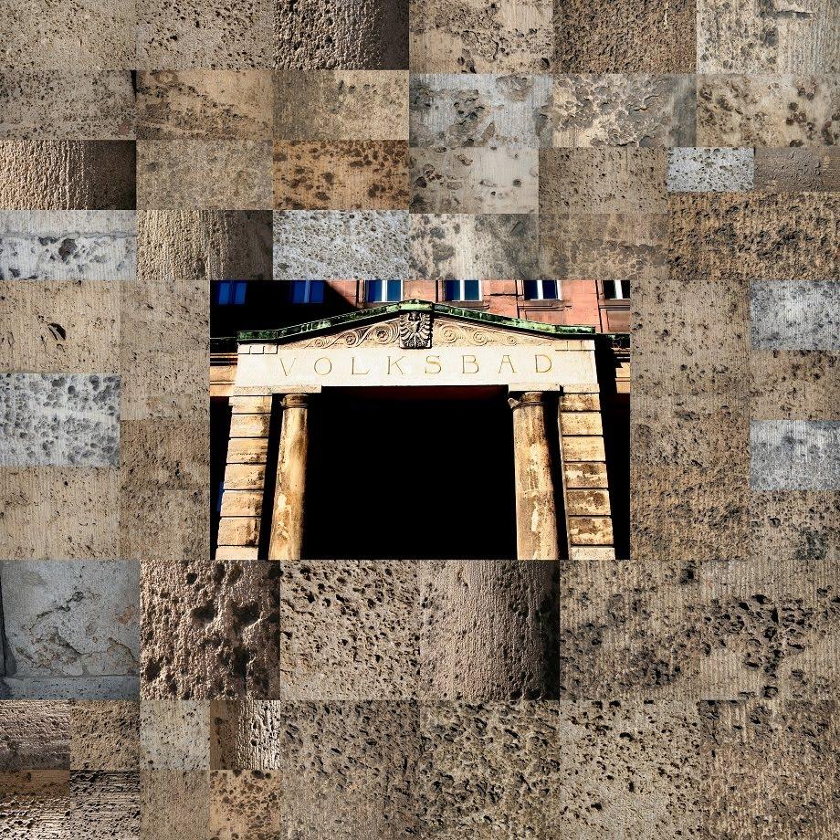 volksbad - portal - steinschäden