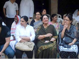 Celbs grace Joy Mukherjee's funeral