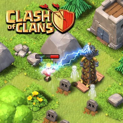 castle clash mobile strategy game heroes troops heroes are probably