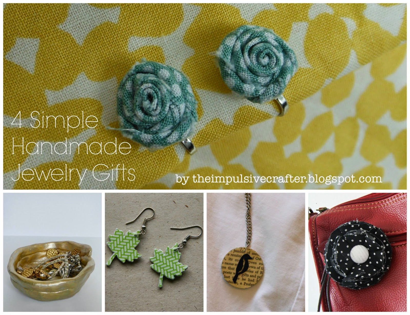homemade jewelry gifts
