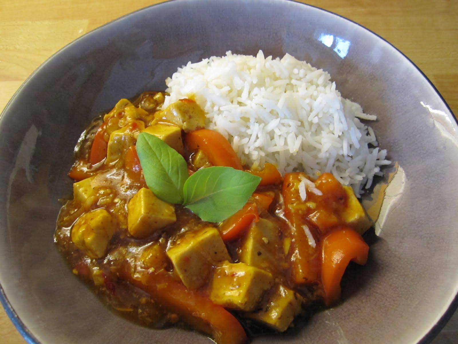 tofu recept gryta