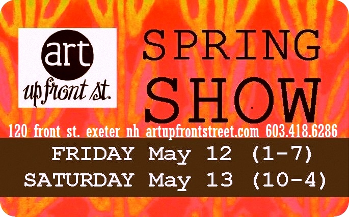 MOTHER'S DAY WEEKEND, MAY 12 & 13, 2017....Our first show in the new space