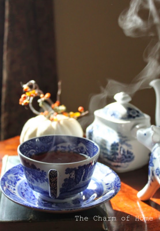 Steaming Cup of Tea: The Charm of Home