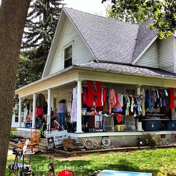 World's Longest Yard Sale road trip via Funky Junk Interiors