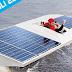 Expositie gemaal De Waterwolf tijdens Solar Challenge