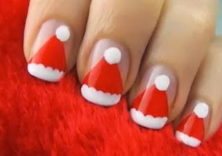 Navidad, Uñas Decoradas.