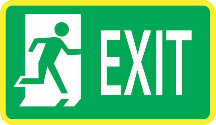 designment get fire exit logo with source file rh dsignment blogspot com exit loop exit loop when cell has certain value