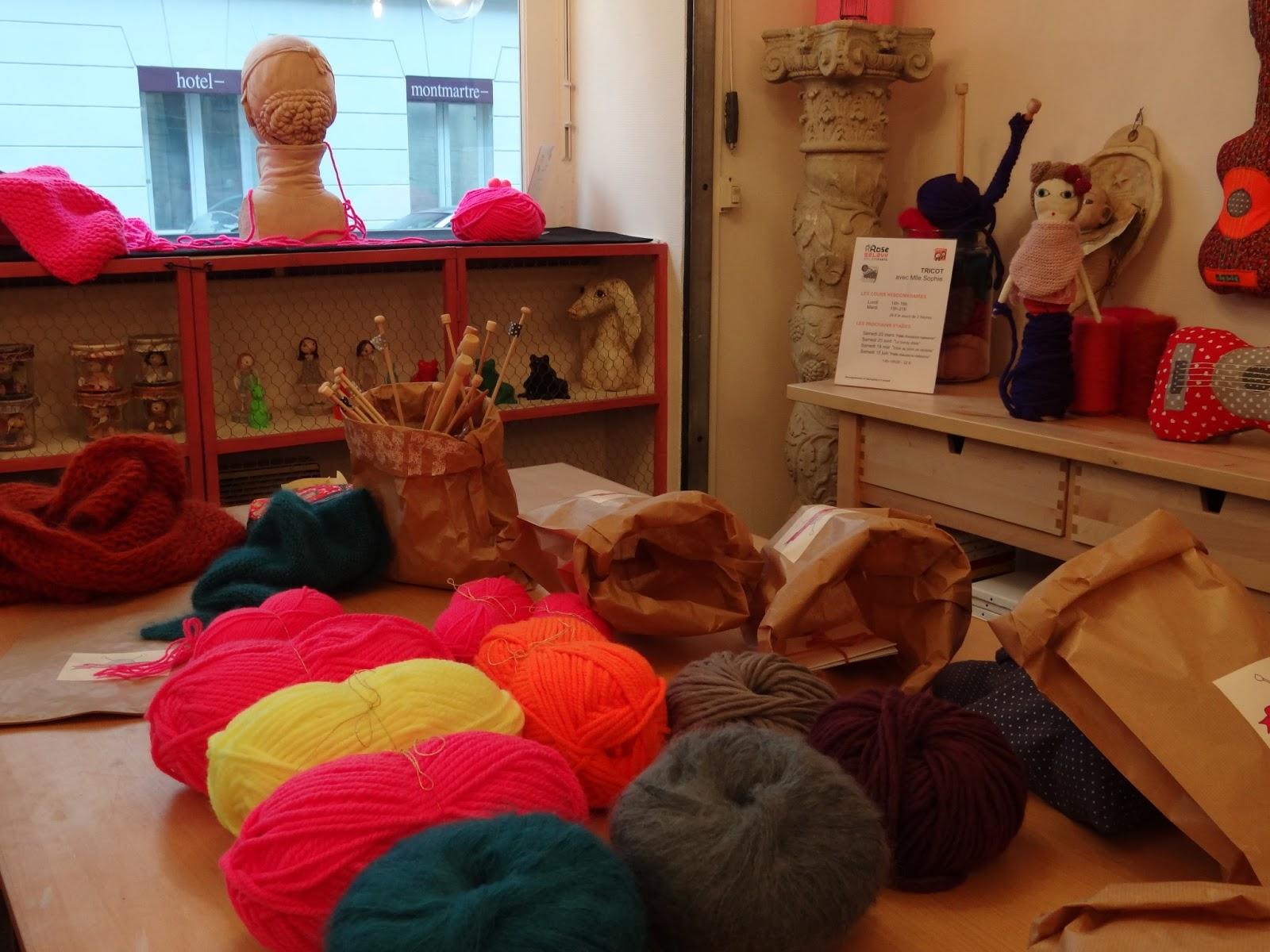 apprendre a tricoter paris