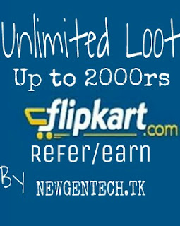 Flipkart Unlimited Loot Earn up to 1000/2000rs