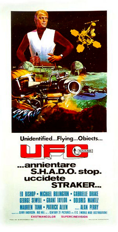 Ufo italian movie poster
