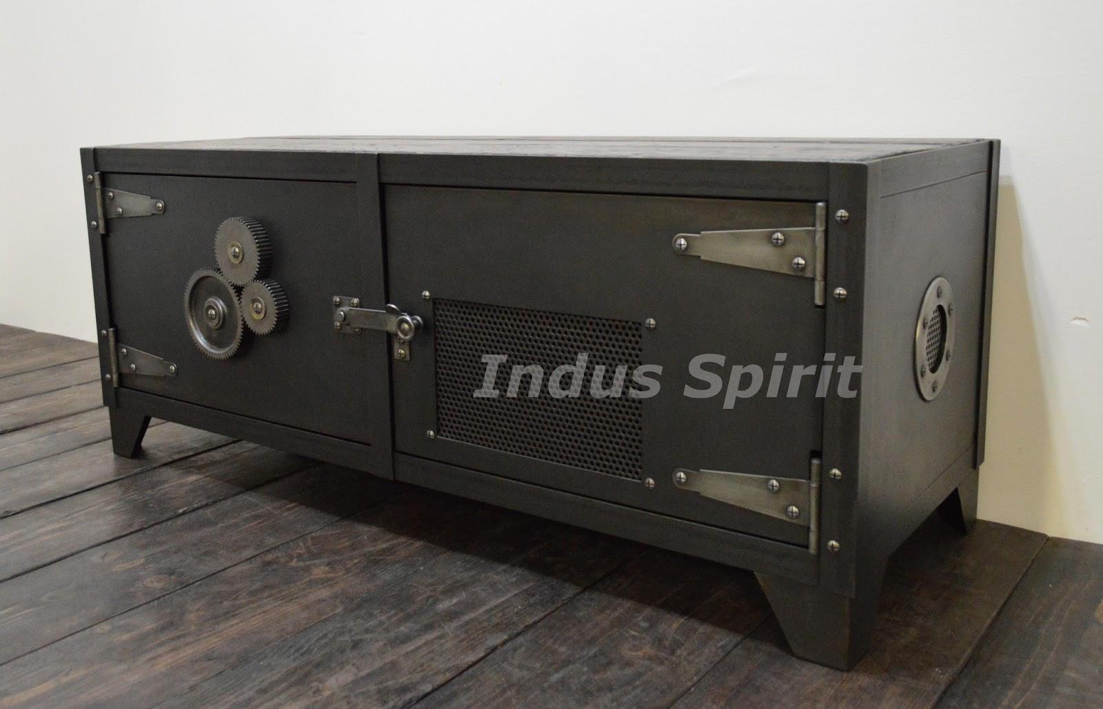 meuble design anglais: rounded designer oak entertainment unit ... - Meuble Design Anglais