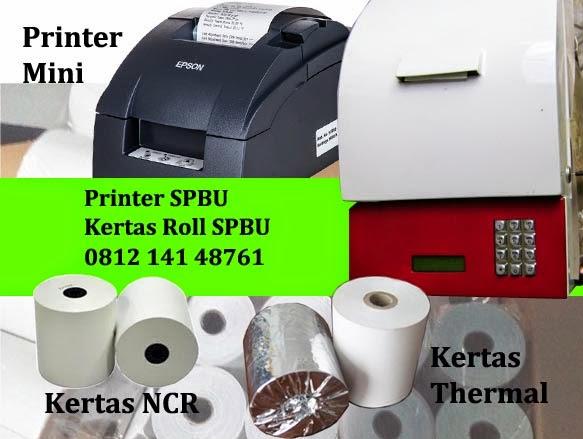 Kertas Roll SPBU - Kertas SPBU - Kertas Struk SPBU - Kertas Roll Surabaya