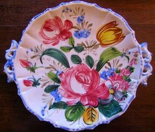 Bold Vibrant Italian Vintage Plate