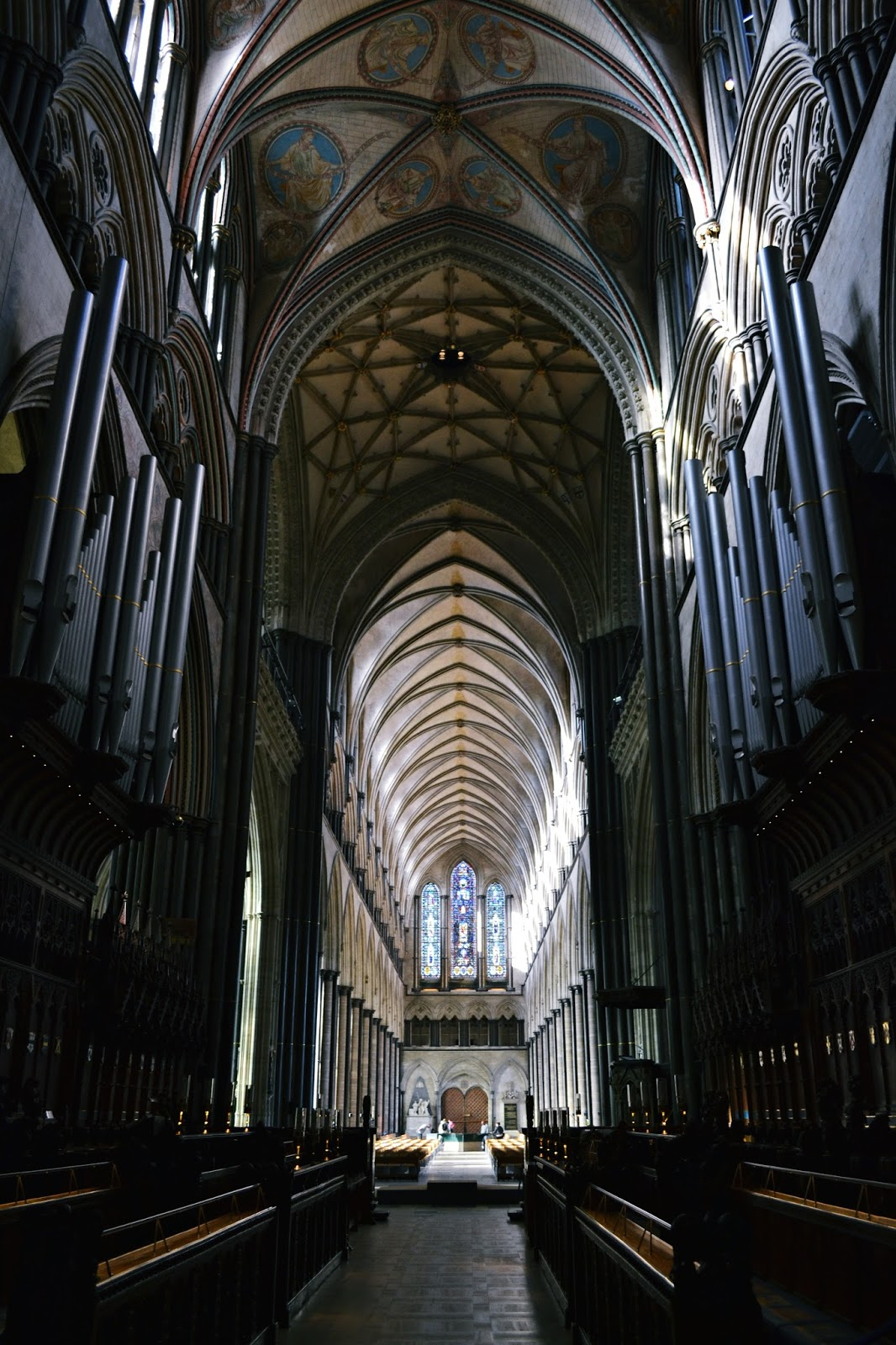 salisbury cathedral quire