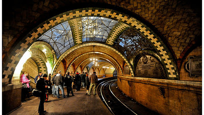 CityHall subway station di New York