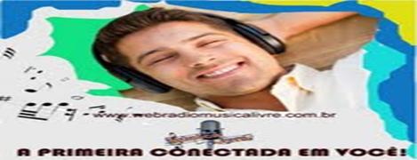 Web Radio Musica Livre - Click para acessar