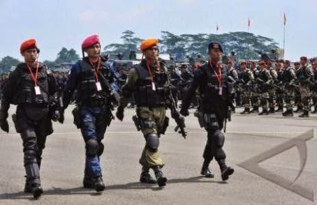 Ini dia Gelar Kekuatan TNI Amankan Pemilu Presiden 2014