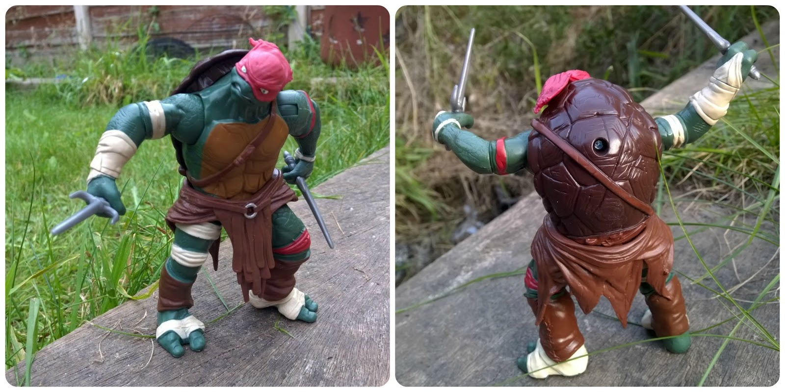 Teenage Mutant Ninja Turtles Movie - Combat Warrior Raphael