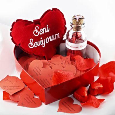 hediye sepeti romantik