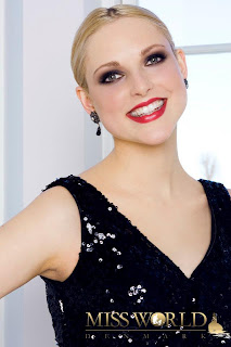 Miss World Denmark 2012 Louise Rude Christensen