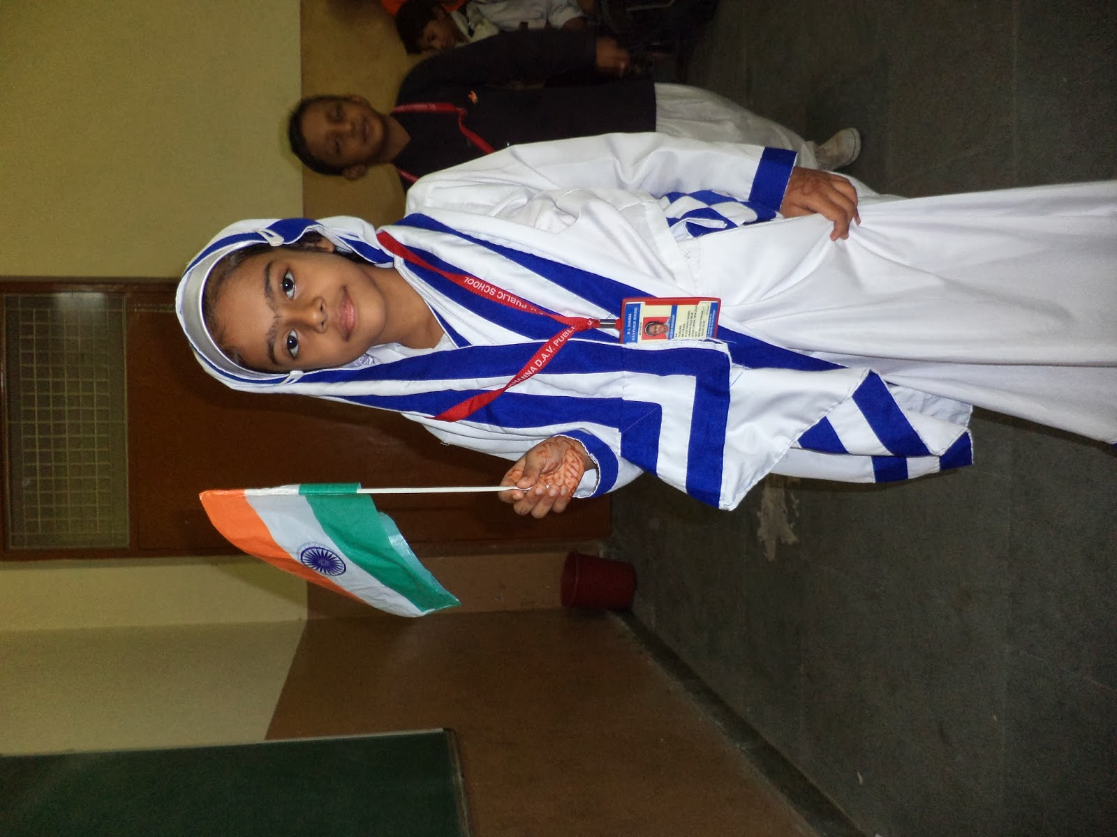 Fancy dress related to independence day pictures