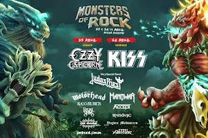 MONSTERS OF ROCK - BRASIL