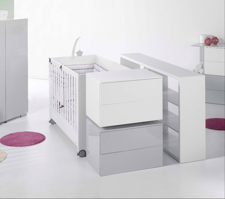 Micuna camerette mobili trasformabili per bambini di - Design babymobel ...